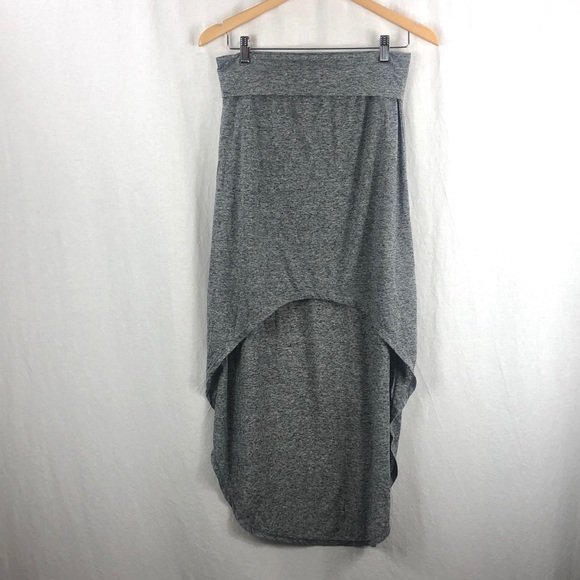 Aeropostale grey high low skirt NWOT